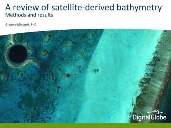 DigitalGlobe bathymetry