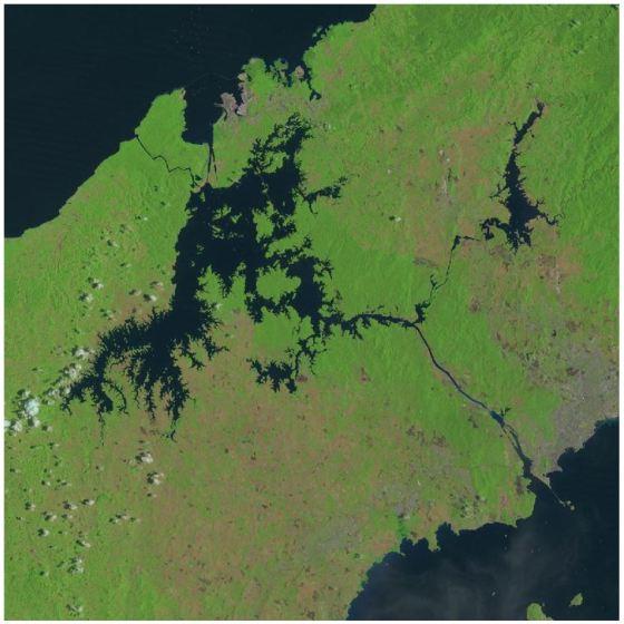 Panama Canal - Landsat5 Cloud Free